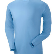 UltraClub® Adult Cool & Dry Sport Long-Sleeve Performance Interlock Tee