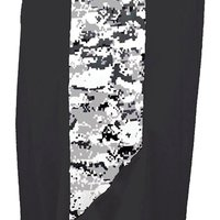 "Men's 10"" Inseam Digital Panel Side-Pocket Camo Short"