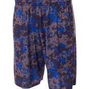 "Youth 8"" Printed Camo Performance Short"