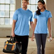 UltraClub® Ladies' Cool & Dry Heather Performance Tee