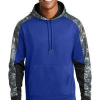 Sport Wick ® Mineral Freeze Fleece Colorblock Hooded Pullover