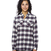 Ladies' Plaid Boyfriend Flannel