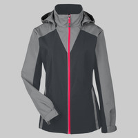Ladies' Embark Interactive Colorblock Shell with Reflective Printed Panels