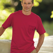 Adult Tagless® T-Shirt with Pocket