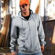 Adult Hooded Full-Zip Fleece