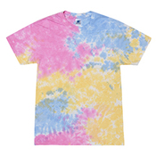 5.4 oz., 100% Cotton Tie-Dyed T-Shirt