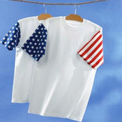 Code Five Adult Jersey Stars & Stripes Tee
