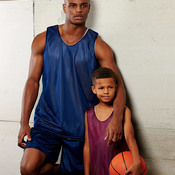 Youth Reversible Mesh Tank