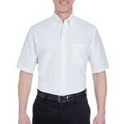 Men's Men's Classic Wrinkle-Resistant Short-Sleeve Oxford