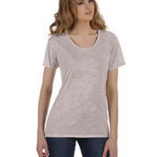 Ladies' Kimber Mélange Burnout T-Shirt