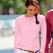 Ladies' Garment-Dyed Long-Sleeve Tee