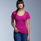 Ladies' Featherweight Scoop Tee