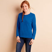 Gildan Heavy Cotton™ Ladies' Long-Sleeve T-Shirt