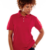 UltraClub® Ladies' Platinum Performance Piqué Polo with TempControl Technology