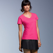 Ladies' Lightweight V-Neck Tee
