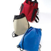 UltraClub Non-Woven Drawstring Pack
