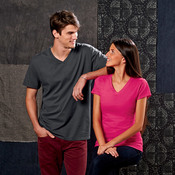 Fruit of the Loom Adult Sofspun™ V-Neck T-Shirt