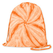Gildan Tie-Dye Fleece Drawstring Bag