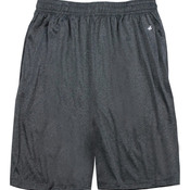 "Adult Heathered 10"" Performance Shorts"