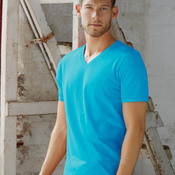 Adult Featherweight V-Neck Tee