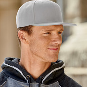 UltraClub Flat Bill Cap