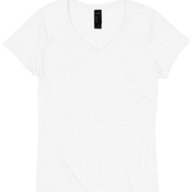 Ladies' X-Temp Tri-Blend V-Neck Tee