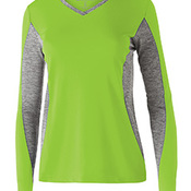 Ladies' Polyester Long Sleeve Stellar Shirt
