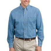 Port Long Sleeve Denim Shirt