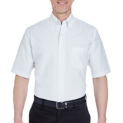 Men's Men's Tall Classic Wrinkle-Resistant Short-Sleeve Oxford