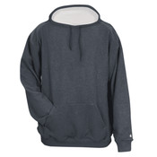 Adult Pro Heather Fleece Hooded Sweatshirt