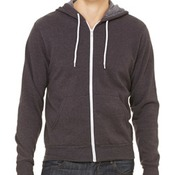 Unisex Poly-Cotton Fleece Full-Zip Hoodie
