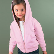 Toddler Full-Zip Hooded Fleece with Pockets
