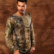 Code Five Adult REALTREE® Camouflage Long-Sleeve T-Shirt