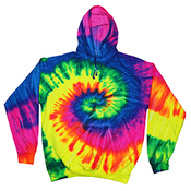 Youth 8.5 oz. Tie-Dyed Pullover Hood