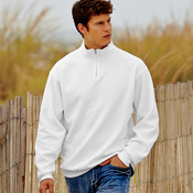 Adult NuBlend® 1/4-Zip Cadet Collar Sweatshirt