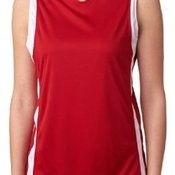 Ladies B-Slam Polyester Reversible Tank