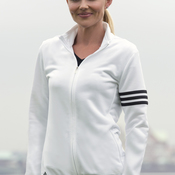 Ladies' ClimaLite® 3-Stripes Full Zip Pullover Jacket
