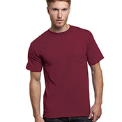 Adult Adult Short-Sleeve Tee with Pocket