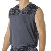 Youth Printed Camo Performance Muscle Tee