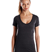 Ladies' 4.3 oz. Short-Sleeve V-Neck