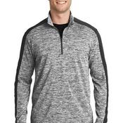 PosiCharge ® Electric Heather Colorblock 1/4 Zip Pullover