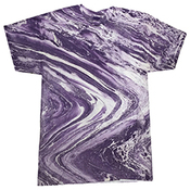 Adult Marble Tie-Dyed T-Shirt