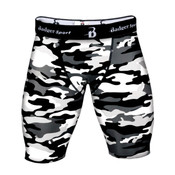 "Men's Camo 8"" Compression Shorts"