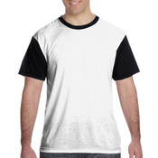 Adult Blackout Polyester Tee