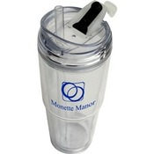 NEW - 22 oz. Insulated Dual Tumbler - 48min.