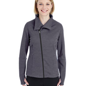 Ladies' Amplify Mélange Fleece Jacket
