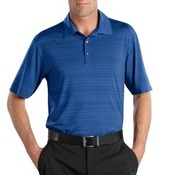 Golf Elite Series Dri FIT Heather Fine Line Bonded Polo