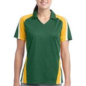 Ladies Tricolor Micropique Sport Wick ® Polo