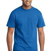 50/50 Cotton/Poly T Shirt with Pocket