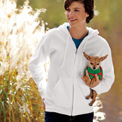 ® DryBlend® Adult Full-Zip Hooded Sweatshirt